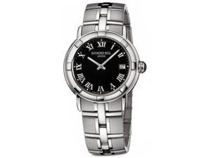 Raymond Weil 9541-ST-00208 Parsifal Black Dial Stainless Steel Men's Watch