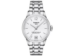 Tissot T0992071103700 White Dial Stainless Steel Automatic Men's Watch