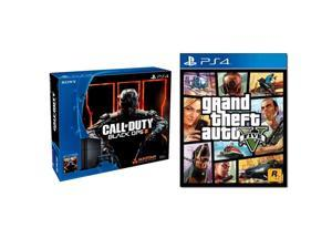 PS4 500GB Call of Duty Black Ops III bundle w/ Grand Theft Auto 5