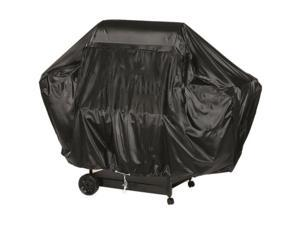 Char-Broil Universal Fit Cart Style Charcoal Grill Cover - Supports Barbecue Grill - Heavy Duty, Weather Resistant, Dust Resistant, Wind Resistant, Rain Resistant, Snow Resistant - Polyvinyl Chloride