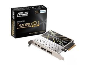Asus ThunderboltEX II/DUAL Thunderbolt Adapter - PCI Express 2.0 x4 - 2 Thunderbolt Port(s)