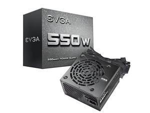 EVGA 550N1, 550W, 2 Year Warranty, Power Supply 100-N1-0550-L1