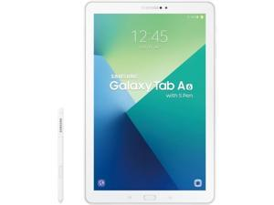"Samsung Galaxy Tab A SM-P580 16 GB Tablet - 10.1"" - Plane to Line (PLS) Switching - Wireless LAN - Samsung Exynos 7 Octa 7870 Octa-core (8 Core) 1.60 GHz - Pearl White"