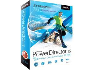 Cyberlink PowerDirector v.15.0 Ultra - Video Editing - PC