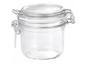 "Bormioli Rocco Fido Jar 6.75 Oz - 6.7 fl oz 3.27"" Diameter Jar - Metal, Rubber Gasket - 6 Piece(s)"