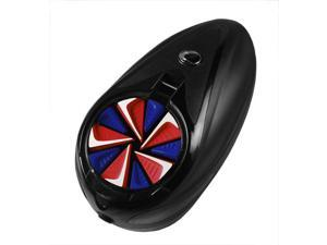 Exalt Paintball Rotor Fast Feed - Red / White / Blue
