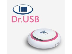 IM Healthcare Dr. USB IHC-DR2H5 Pink Aircleaner Compact & Slim Portable Anti-Bacteria Air Purifier Ionizer