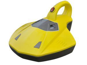 EcoGecko High Power Ultra Portable Handheld Vacuum Cleaner with UV Light (Yellow)