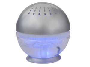 EcoGecko Pure H2O Mini Water Based Air Purifier Revitalizer Air Freshener  - Silver