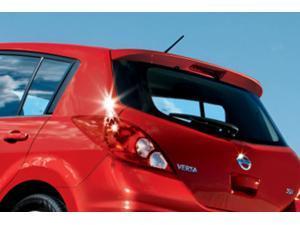 Nissan Versa HB Rear Roof Spoiler 999J1-4TB17  (B17 - METALLIC BLUE)