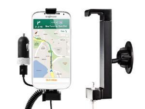 Sinjimoru Dashboard, Center Fascia Car Mount forGalaxy S5, S4 S3 Note 3, Note 2, LG G2 and More