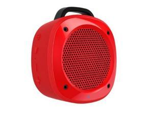 Divoom Airbeat-10 Wireless Bluetooth Water Resistant Bicycle/shower Speaker with Built-in Mic, Amazing Bass From Surface-vibration Technology, Suction Cup and Bike Mount Included