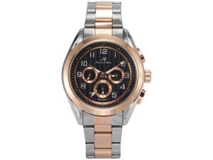 KS Mens KS291 Analog Automatic Mechanical Day/Date/24 hour Dress Steel Wrist Watch