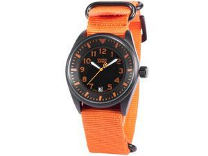 Shark Army Men's SAW108 Analog Quartz Date Display Military Nylon Band Wrist Watch