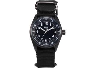 Shark Army Men's SAW105 Analog Quartz Date Display Military Nylon Band Wrist Watch