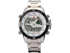 Shark Men's Military Digital LCD Analog Chronograph Watch