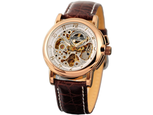 KS Men's Automatic Mechanical Dial Stainless Steel Analog Watch