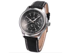 KS Black Dial Date Day 24 Hours Men 6 Hand  Automatic Mechanical Wrist Watch KS097