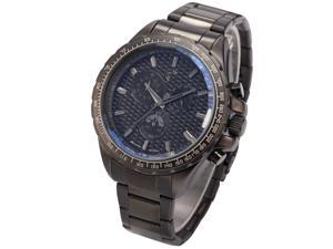 Shark Mens Chronograph 24 Hours Gunmetal Stainless Steel Sport JP Quartz Wrist Watch SH187