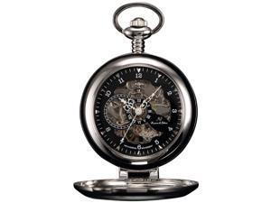 KS-KSP063, Mens Half Hunter Hand Wind Mechanical Pocket Watch