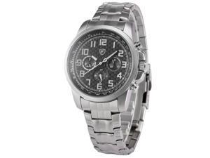 Shark Saw Shark series Mens Analog Date Day Sport Quartz Stainless Steel Band Wrist Watch SH182