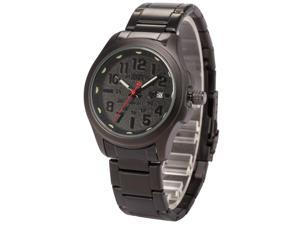 Shark Army Mens SAW123 Military design Date Display Steel Band Quartz Watch