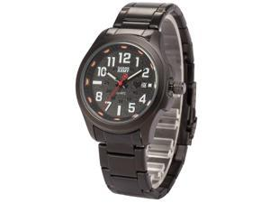 Shark Army Mens SAW125 Military design Date Display Steel Band Quartz Watch