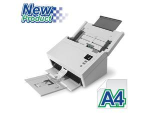 "Avision AD230 Color Duplex 40ppm/80ipm CCD 600dpi Sheetfed Scanner 8.5"" x 118"" LED Instant On One Press"