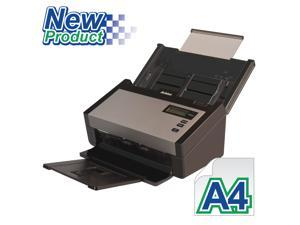 "Avision AD280 Color Duplex 80ppm/160ipm CCD 600dpi Sheetfed Scanner 8.5"" x 118"" LED Instant On One Press"