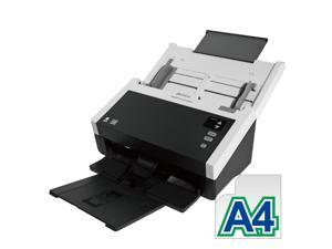 "Avision AD240 Color Duplex 40ppm/80ipm CCD 600dpi Sheetfed Scanner 8.5"" x 118"" LED Instant On One Press"
