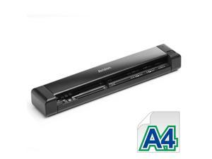 "Avision ScanQ Li-ion battery CIS 1200dpi Portable Compact Mobile Sheetfed Scanner 8.5"" x 14"" LED Instant On w/card"