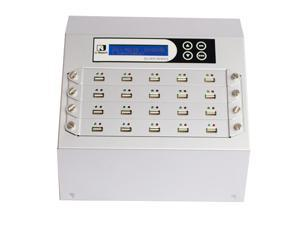 Intelligent 9 Series (UB920S) - Silver Standard 1-19 Target USB Flash Memory/ Pen Drive/ External USB Hard Drive  Duplicator