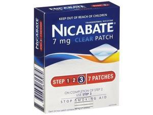 Nicabate Cq Clear 7Mg Patches 1 Week