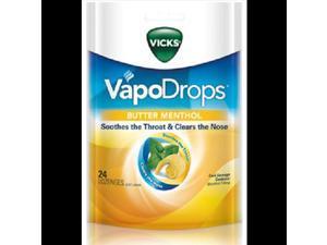 Vicks Vapodrops Butter Menthol 24 Drops