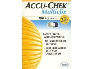 Accu-Chek Multiclix 100+2 lancets