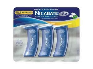 Nicabate Mini Mint Lozenges 1.5 Mg 60s