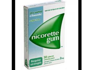 Nicorette Gum Classic Regular 2mg x30