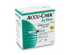 Accu-chek active strips 100s