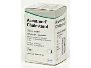 Accutrend Plus Cholesterol testing strips x25