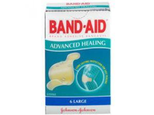 Band-Aid Advanced Healing Bandages Large 6 Pack