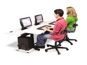 Split-Level Computer Training Table Top 72 x 36 (Box One)