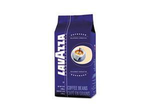 Super Crema Whole Bean Espresso Coffee, 2.2 lb. Bag, Vacuum-Packed
