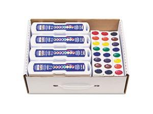 Professional Watercolors, 8 Assorted Colors,Masterpack, 36/Set