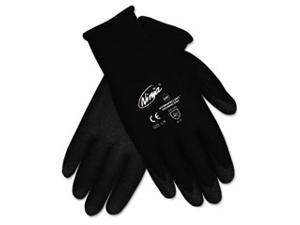 Crews N9699S Ninja HPT PVC coated Nylon Gloves, Small, Black