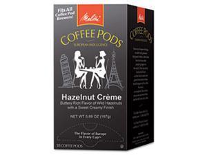 Coffee Pods, Hazelnut Cream (Hazelnut), 18 Pods/Box