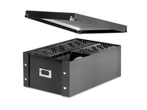 CD Storage Box, Holds 120 Slim/60 Std. Cases