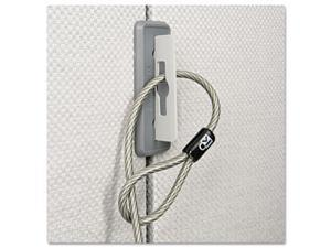 Partition Cable Anchor, Gray