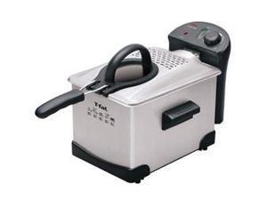 T-Fal FR1014002 Easy Pro Enamel Stainless Steel 2.6-Pound/3-Liter Deep Fryer