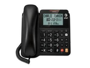 vetch ATT-CL2940 Corded Speakerphone with Display – BLACK