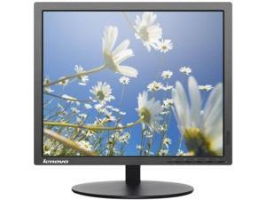 Lenovo 60D7LAR1US Thinkvision T1714P - Led Monitor - 17 Inch - 1280 X 1024 - Tn - 250 Cd/M2 - 1000:1 - 5 Ms - Dvi-D, Vga, Displayport - Black